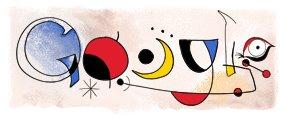 Joan Miró y Google