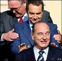 Jacques Chirac quiere competir con Google