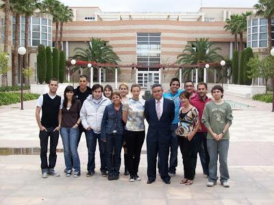 Los alumnos del curso de Ecoconomía de la Globalización 2008