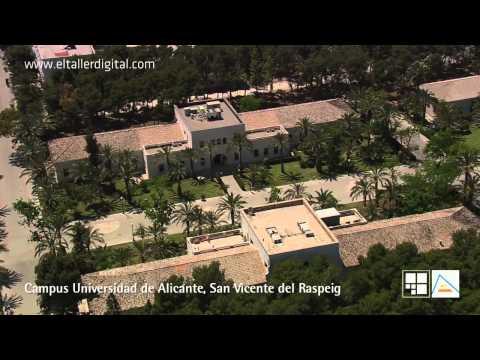 Vídeo campus de la Universidad de Alicante (el mejor campus moderno de Europa)
