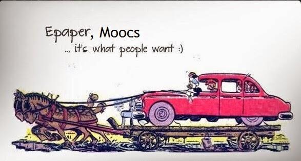 Los materiales docentes tradicionales no sirven para los MOOCs (y los métodos tampoco)