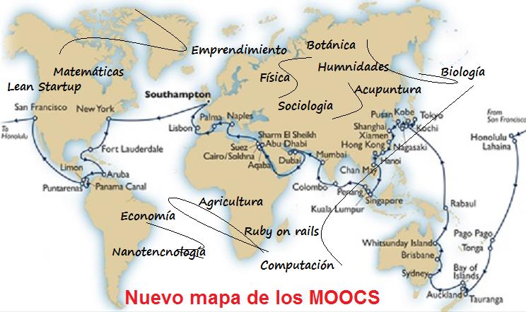 MOOCs: la revolución de los itinerarios (nada volverá a ser igual)