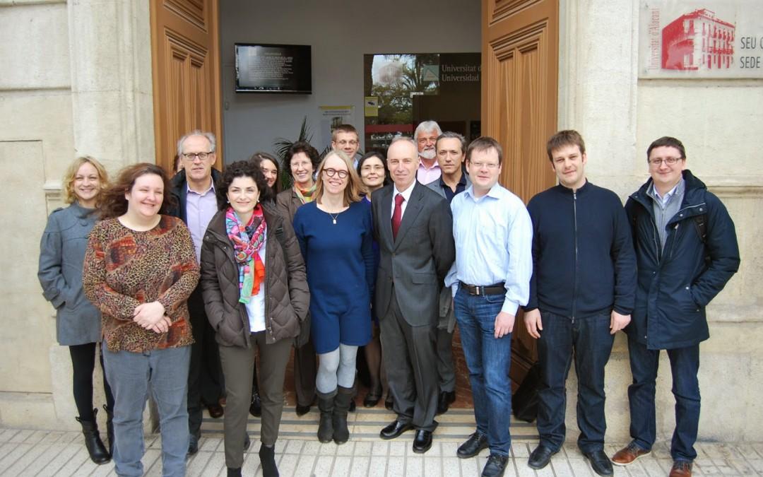 Éxito del proyecto Succeed (UE) impulsado por la Biblioteca Virtual Miguel de Cervantes)