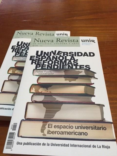 Las reformas pendientes de la Universidad española