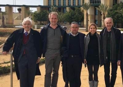 Eugenio Triana, Kristof Roomp, Nuria Oliver y Alfonso Vegara Ciudad de la Luz